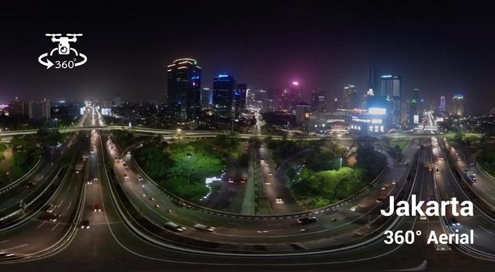 Aerial 360 Jakarta-Semanggi