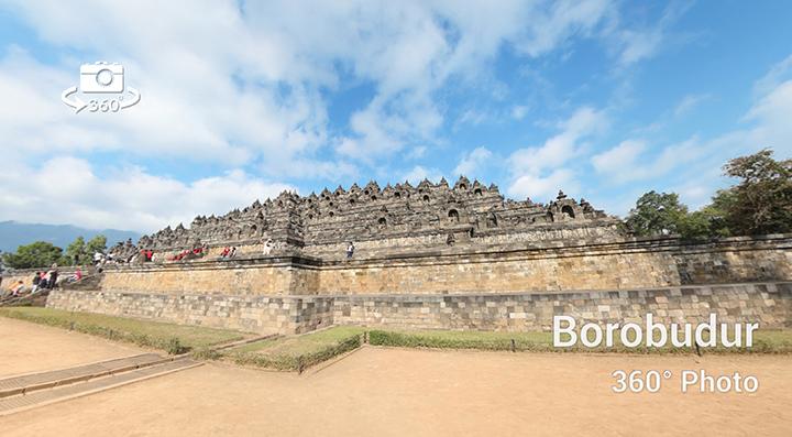 Candi Borobudur Virtual tour