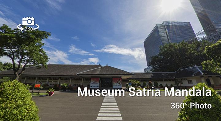 Satria Mandala Museum Virtual Tour